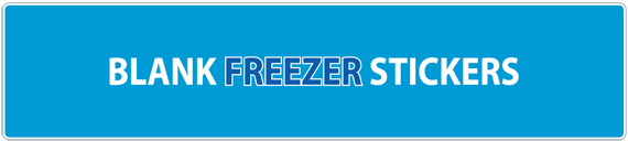 Blank Freezer Stickers