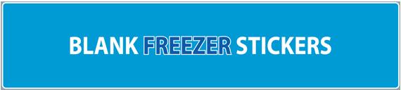 Blank Freezer Stickers