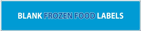 Blank Frozen Food Labels