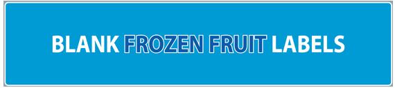 Blank Frozen Fruit