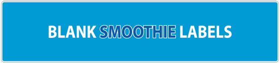 Blank Smoothie Labels