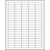 "1.5"" x 0.5"" (100up) DIY FREEZER-Grade/Durable Sheet Labels, LS-1505-100"